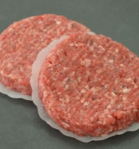 Thick Beef Burgers